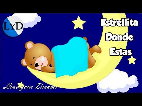 Estrellita Dónde Estás | Canción de Cuna Instrumental | Música Relajante Dormir Bebés Profundamente