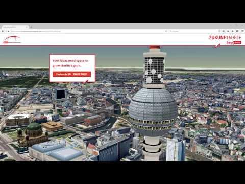 virtualcitySTORY - Berlin´s Zukunftsorte