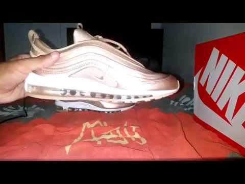 ff322c38b8 Nike AIR MAX 97 ULTRA METALLIC vermelho REVIEW BRONZE REVIEW vermelho BR  YouTube c88cb8