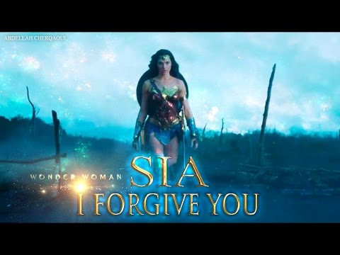 Sia - I Forgive You (Lyrics) (WONDER WOMAN) (2017)HQ