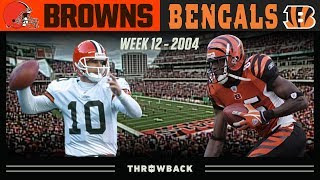 Highest Scoring Game You Haven't Seen! (Browns vs. Bengals 2004, Week 12)