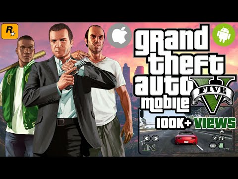 GTA V MOBILE - Download GTA 5 Android & IOS! (Gameplay)