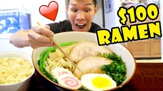 $100 HOMEMADE RAMEN Vs $0.79 Instant Noodle || Life After College: Ep. 607