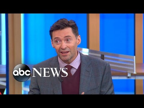 Hugh Jackman reveals what his campaign slogan would be if he ran for political office