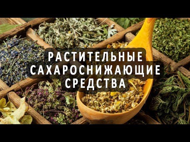 Растительные сахароснижающие средства