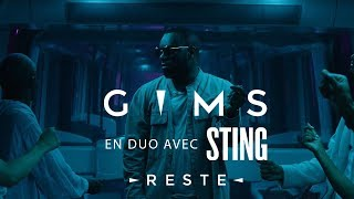 Смотреть клип Gims & Sting - Reste