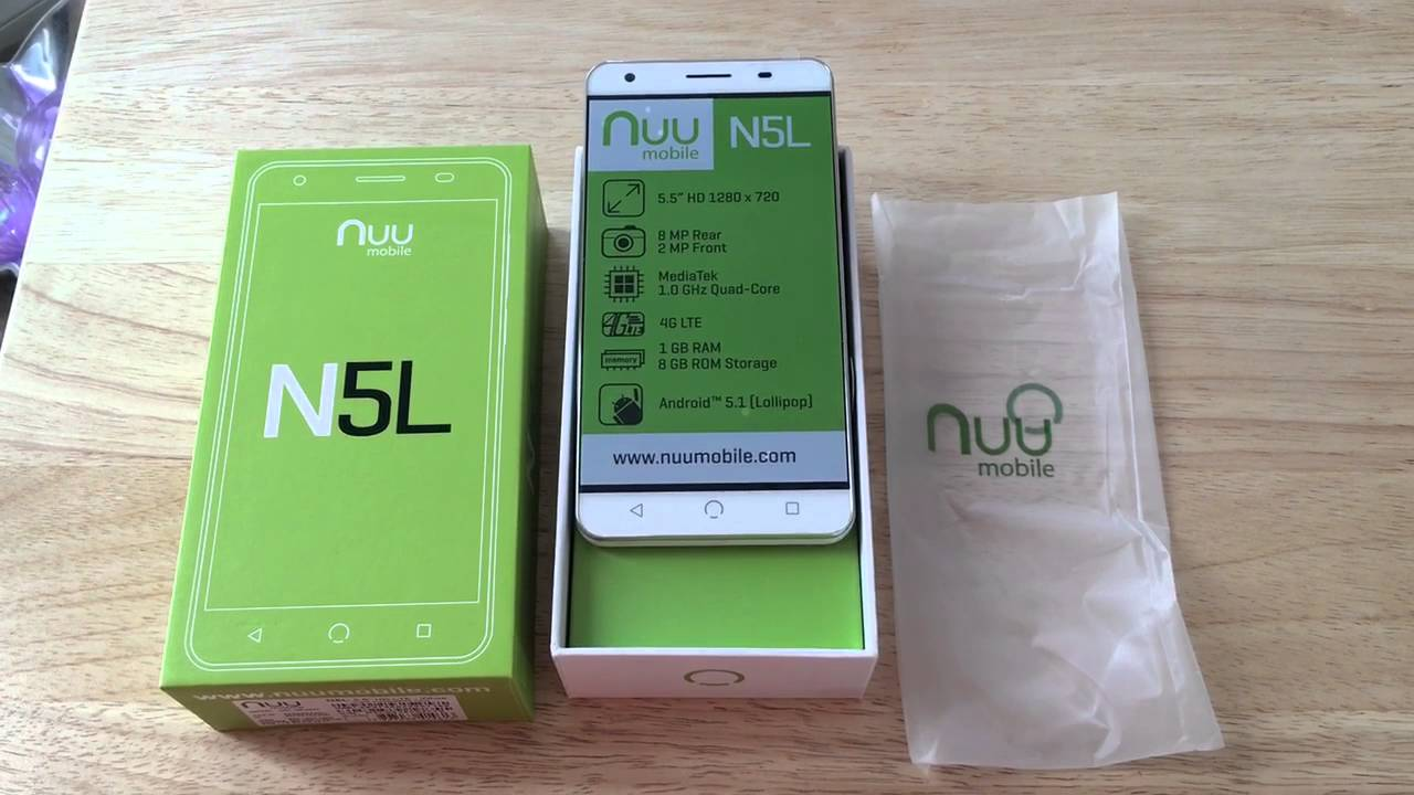 Review: NUU Mobile N5L Unlocked Dual SIM Android Smartphone