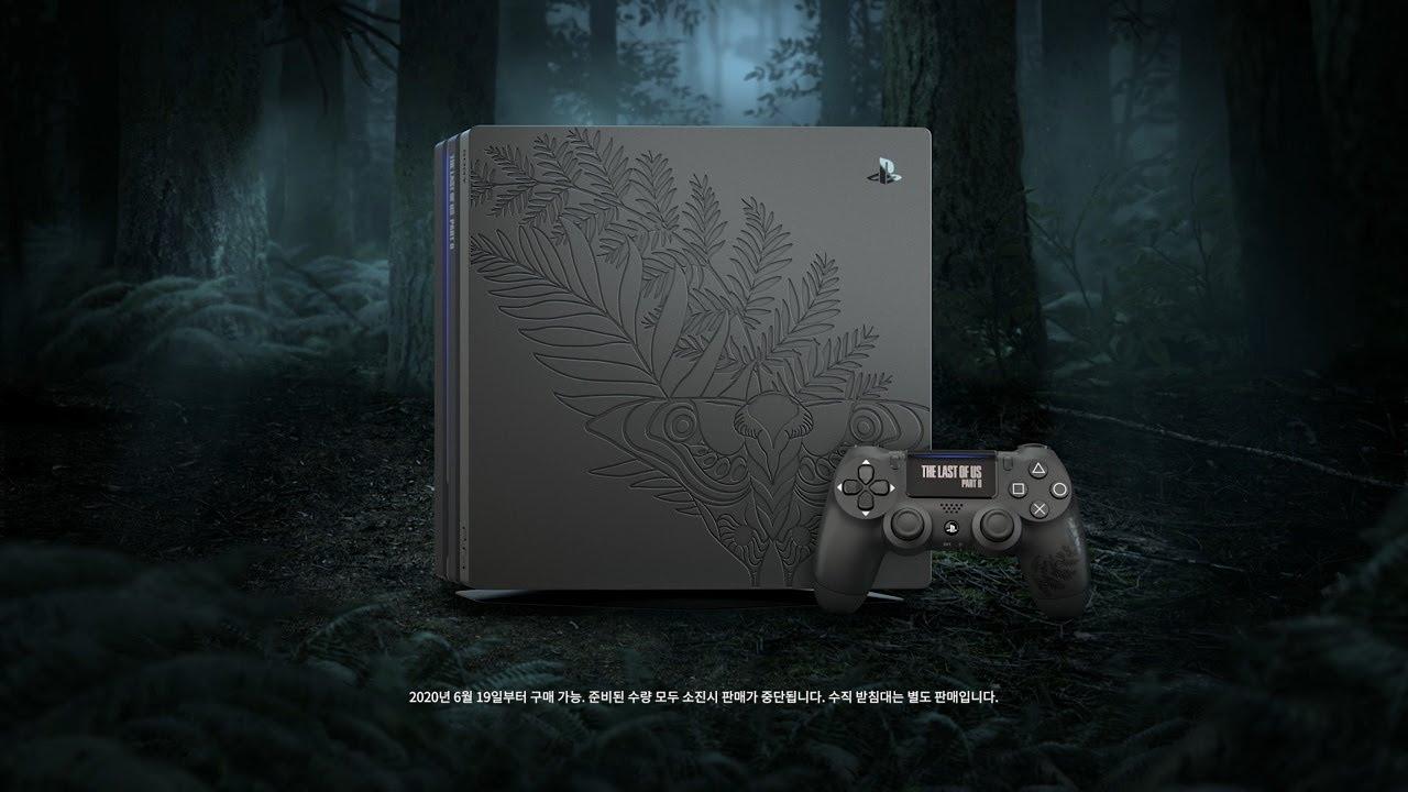 [구독자 이벤트] PS4 Pro The Last of Us Part II 리미티드 에디션을 선물로 드립니다!