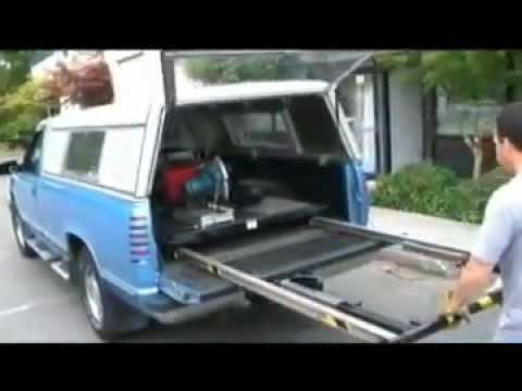 TramBed Truck Bed Extension - Easily Moves Cargo In and Out of Work ...