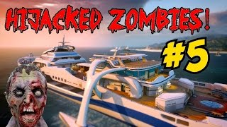 ★ BLACK OPS 2 HIJACKED ZOMBIES! [5] ★ GET TO DA CHOPPA! (CoD Custom Zombies Map/Mod)