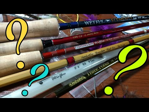 How To Choose A Fly Rod - Flex, Length, & Material For Dry Flies, Streamers, & Nymphing