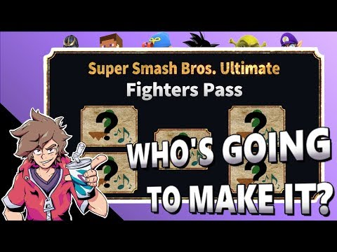 TOP 5 DLC HOPES/PREDICTIONS - Super Smash Bros. Ultimate: Fighters Pass thumbnail
