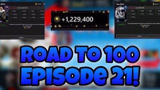 Road to 100 Episode 21! 100 Versus Player