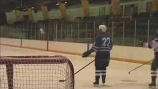 Самый мощный удар в истории хоккея.flv