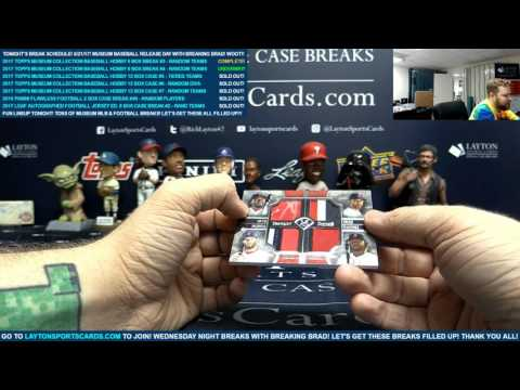 2017 Topps Museum Collection Baseball Hobby 6 Box Break #4 – RANDOM TEAMS