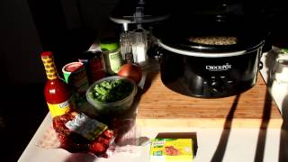 Slow Cooker Black Eyed Peas For New Year's Day 2015