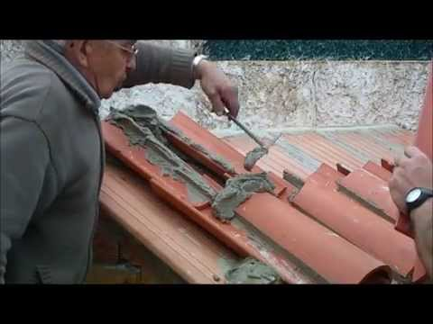 Replanteo y construcci n peque a cubierta con teja rabe v deo n 165 youtube - Como construir un tejado ...