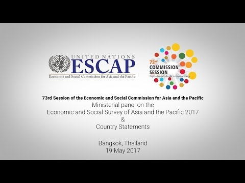 CS73: Ministerial panel on the 2017 Survey & Country Statements