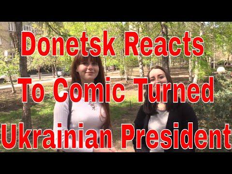 What Donetsk Residents think about  Volodymyr Zelensky as next president of Ukraine