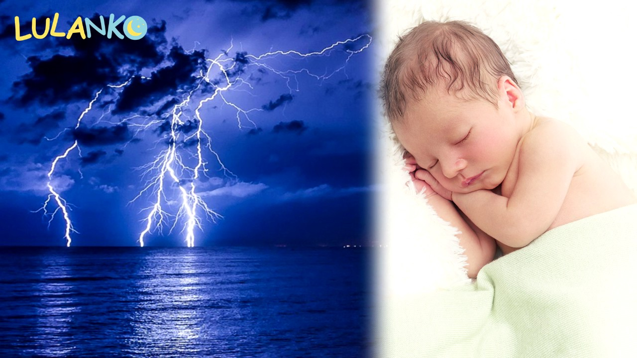 Thunder And Rain White Noise Make Baby Sleep Youtube