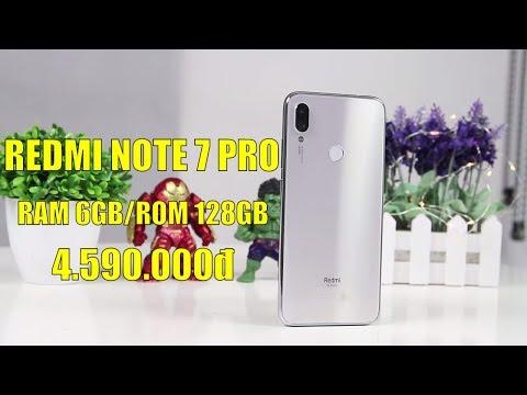 Mở hộp Redmi Note 7 Pro 128GB màu bạc siêu đẹp, GIÁ SIÊU RẺ 4 TRIỆU RƯỠI