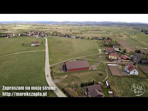 Rusocice, woj. małopolskie, gmina Czernichów z drona