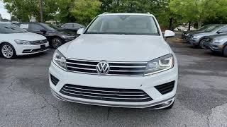 2017 Volkswagen Touareg Alpharetta, Roswell, Johns Creek, Marietta, Sandy Springs, GA NVA210115A