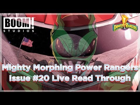 "Mighty Morphing Power Rangers Issue 20 (1969 Rangers) ""Boom Comics Read Through"""