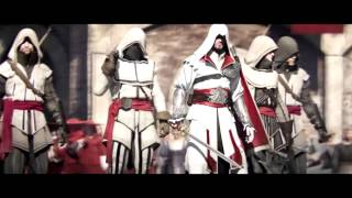 ALL Assassin's Creed Cinematic Trailers 1, 2 , Brotherhood revelations and 3