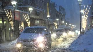 Ushuaia-Info: Nevada en el centro de la ciudad