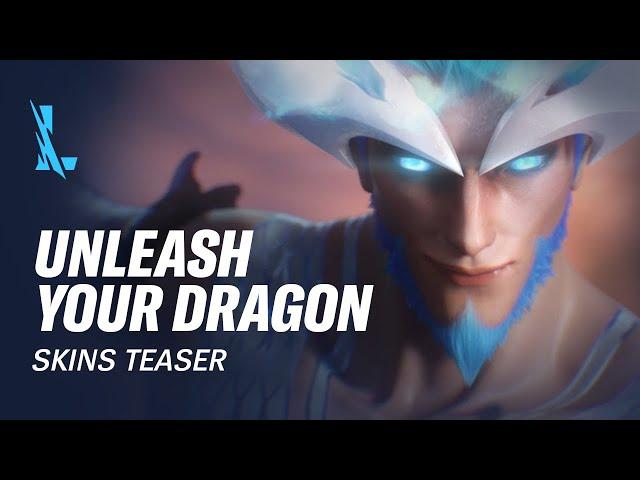 Unleash Your Dragon | Dragonmancer Skins Trailer - League of Legends: Wild Rift
