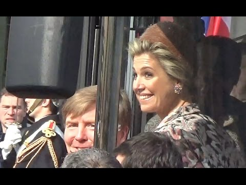 King Willem-Alexander & Queen Maxima of Netherlands visit to Paris 11 march 2016 - mars