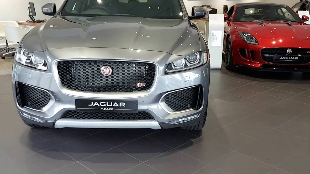 Jaguar F Pace Suv Interior And Exterior Review Walkaround