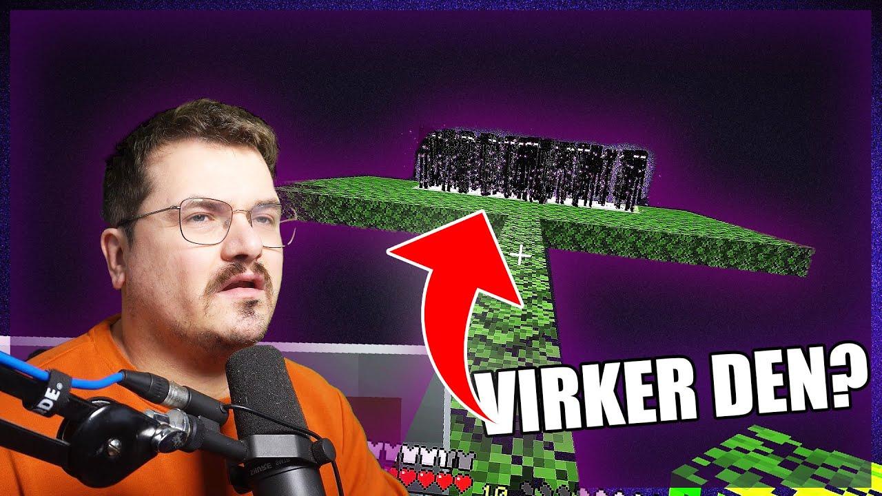 MIN FØRSTE FARM | Minecraft Ep. 34
