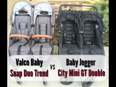 Valco Baby Snap Duo Trend Versus Baby Jogger City Mini Gt