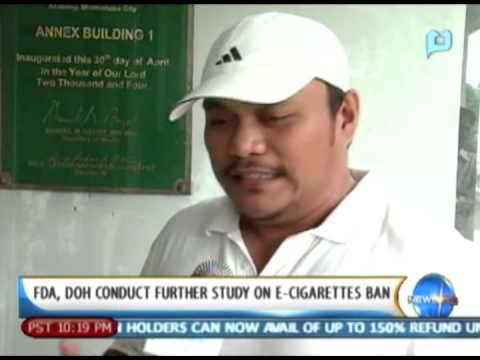 NewsLife: FDA, DOH conducts further study on E-cigarettes ban
