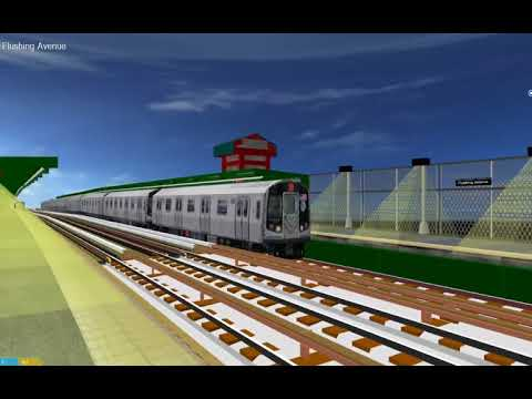 openBVE: 3D R160 Siemens M Train From Metropolitan To Jamaica 179 via F