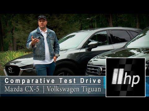 """Mazda CX-5 vs Volkswagen Tiguan. """"2HP"""""""