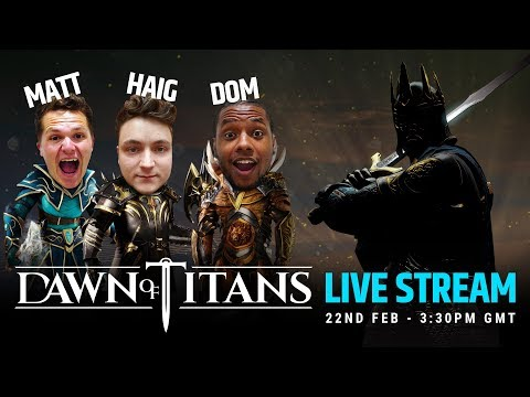 DAWN OF TITANS LIVE STREAM | THE KING RISES | YOUTUBERS VS. DOM BATTLE SPECIAL!