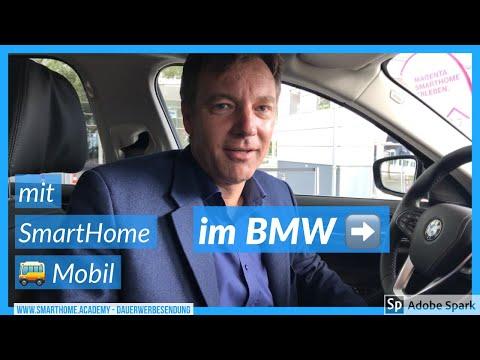 ➜ Smart Home im BMW 530e hybrid DEMO | von Deutsche Telekom | www.smarthome.academy