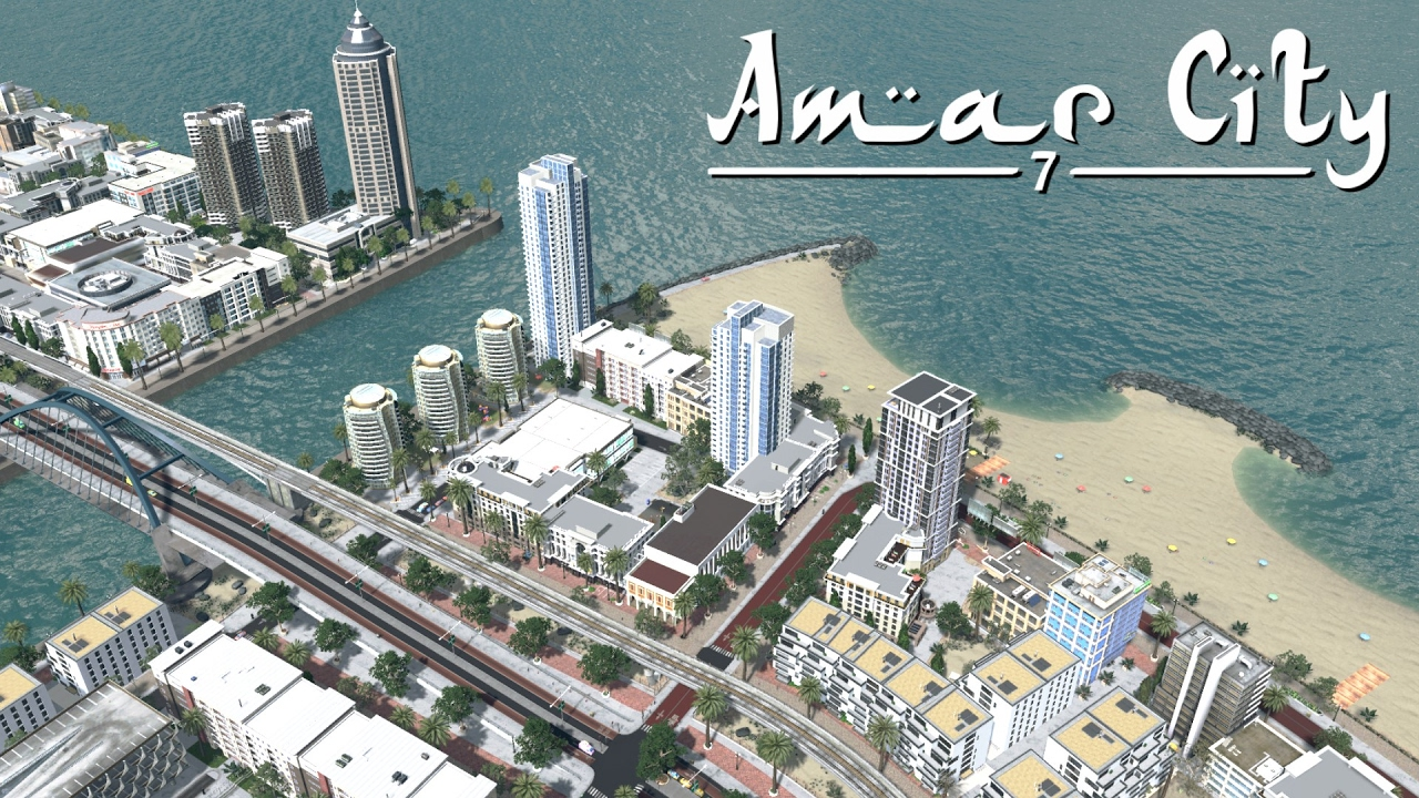 City Skylines Aritifical Island