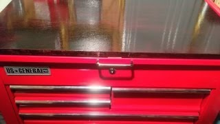 Harbor Freight 5 Drawer Tool Cart & Harbor Freight Tools