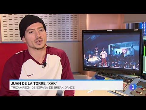 VÍDEO: Reportaje en RTVE con el B-Boy lucentino Xak