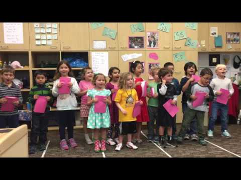 Elle's PreK Mothers Day song