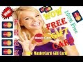 Free mastercard gift card giveaway || how to get mastercard
