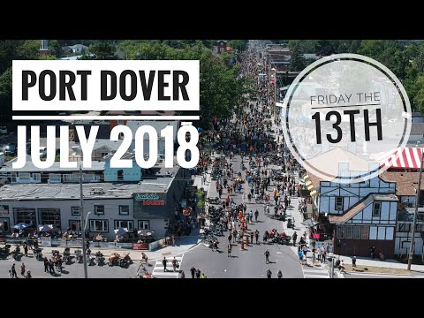 Friday the 13th   Port Dover July 2018   Motorcycle Rally