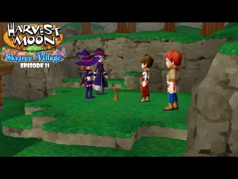 Harvest Moon Skytree Village Let's Play Episode 11| Planting the Skytree Sapling, and a Hammer!