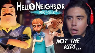 MAKE THE NEIGHBOR MAD & HE'LL MAKE YOU DISAPPEAR | Hello Neighbor: Hide & Seek (CH 2)