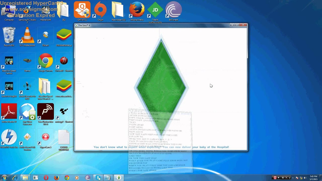 play sims 3 without registration key