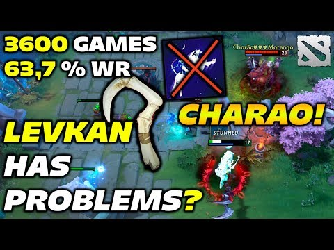 CHARAO PUDGE 3600 Games [Levkan has problems???] Dota 2